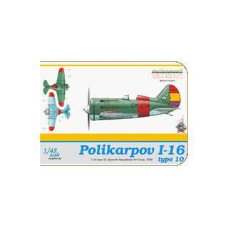 Polikarpov I16 Type 10 Spanish Republican Air Force Aircraft