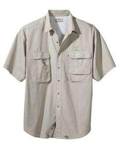 Hook & Tackle Mens Gulf Stream Short Slve Fishing Shirt