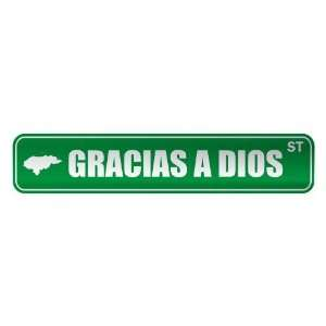 GRACIAS A DIOS ST  STREET SIGN CITY HONDURAS: Home Improvement