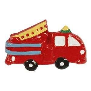 Fire Truck Knob Baby
