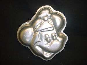 Wilton MINI MICKEY MOUSE cake pan COOKIE CANDY mold tin