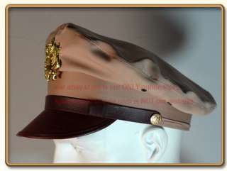 WW2 US Army Air Force Officers Summer Dress Crusher Cap