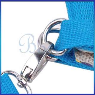 in 1 Pet Dog Cat Coat Leash Harness Carrier Bag Set S