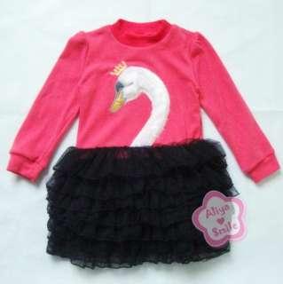 Princess Girls Tutu Skirt Dress Kids Costume Size 3 9Yrs Spring Fall