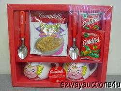 2000 CAMPBELLS SOUP MUG & SPOON GIFT SET NEW IN BOX