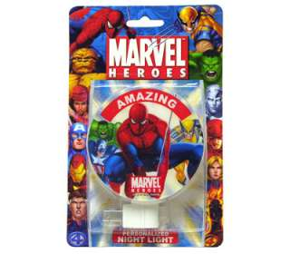 MARVEL SPIDERMAN Decorative KIDS ROOM Wall Night Light