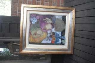 Frutas Floras   Sunol Alvar Art Original Oil Painting Consignor wants