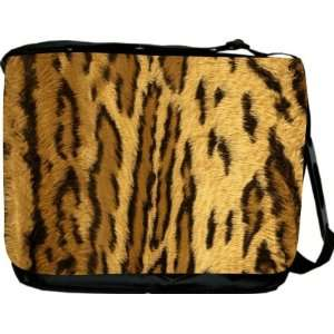 Rikki KnightTM Leopard Spots Messenger Bag   Book Bag   Unisex   Ideal
