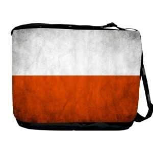Rikki KnightTM Poland Flag Messenger Bag   Book Bag