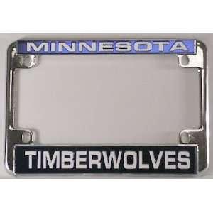 Minnesota Timberwolves NBA Chrome Motorcycle RV License