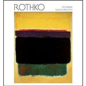 Rothko National Gallery of Art Wall Calendar 2012 Kitchen