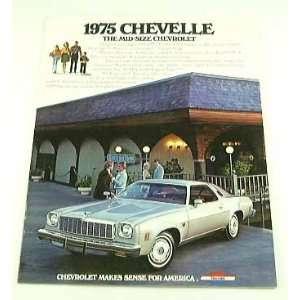 1975 75 Chevy Chevrolet CHEVELLE BROCHURE Malibu Laguna