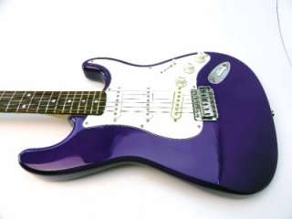 Fender Squier Standard Stratocaster Purple Strat Electric Guitar