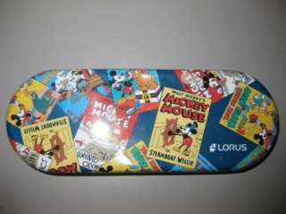 Lorus Disney Mickey Mouse Society Dog Show Watch NIB