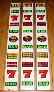 slot machine reel strips