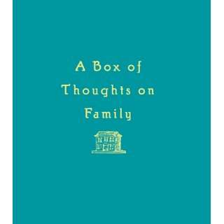 Box of Thoughts on Family Chronicle Books LLC Staff 9780811824552
