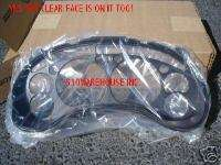 98 05 REPLACEMENT PLASTIC SPEEDO FACE LENSE CHEVY S10 TRUCK BLAZER