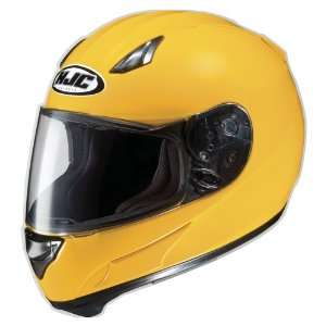 HJC AC 12 Full Face Motorcycle Helmet Dark Yellow Large