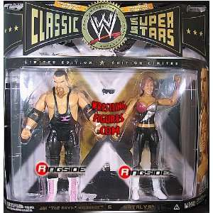 NEIDHART & NATALYA NEIDHART   CLASSIC SUPERSTARS 2 PACK EXCLUSIVE WWE