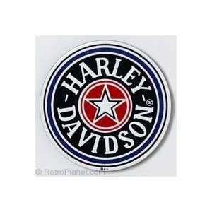Harley Davidson® Fat Boy Gas Cap Magnet