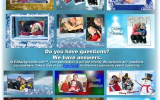 NEW! CHRISTMAS DIGITAL BACKGROUND BACKDROPS W/S