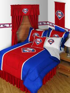 MLB PHILADELPHIA PHILLIES ** SIDELINES ** BEDDING and BEDROOM DECOR