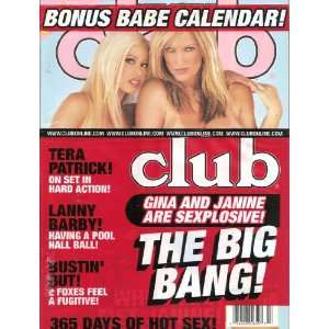 CLUB HOLIDAY 2004 TERA PATRICK: CLUB MAGAZINE: Books