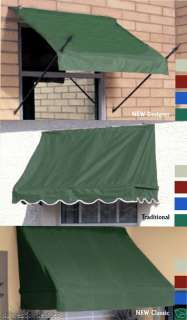 removable window door canvas awnings outdoor sun ...