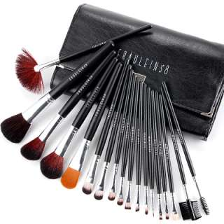 Fräulein3°​8 Professional Make up Makeup Cosmetic Brushes Set with