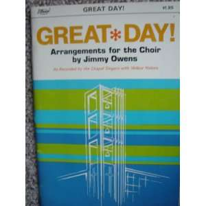 Great Day!: Jimmy Owens:  Books