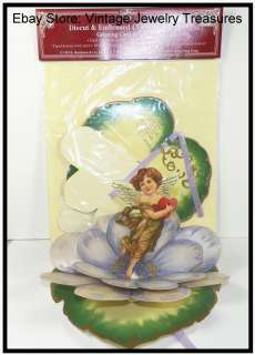 Repro Valentine Card Decor Shackman Pop Up Die Cut Love Angel