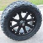 20 KMC XD ADDICT WHEELS & 35 FEDERAL MT TIRES CHEVY GMC SIERRA 2500