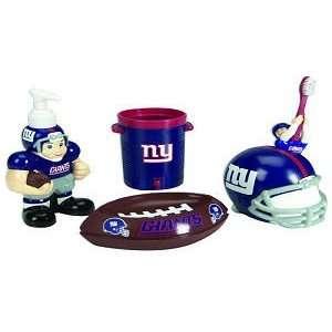 Giants 5 Piece Team Bathroom Set   NFL Football: Sports & Outdoors