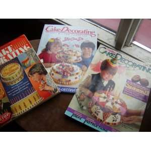 CAKE DECORATING YEARBOOKS   1979   1984   1987   (3) Wilton Books
