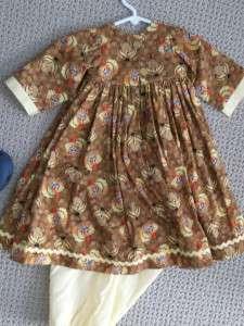 Seamstress Made Turkey Dress Fits Annette Himstedt Doll