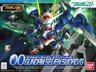 SD GUNDAM BB368 OO Seven Sword G 00 ANIME MODEL KIT NEW