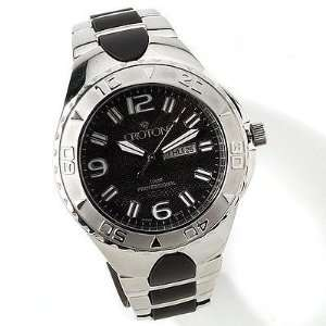 Croton Mens Stainless Steel Designer Sports Watch