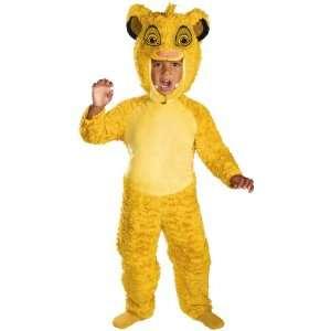 Disney The Lion King Simba Costume   Kids Toys & Games
