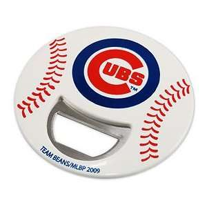 Chicago Cubs Plastic Magnetic Bottle Opener