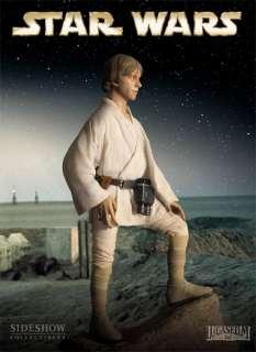 scale Luke Skywalker statue figure Sideshow