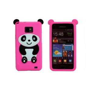 Ecomgear® Cute Panda Style Soft Silicone Case Cover Skin for Samsung