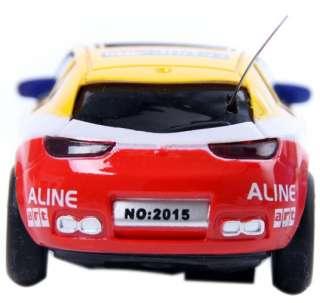 Xmas Coke Can Mini RC Radio Remote Control Racing Car 164