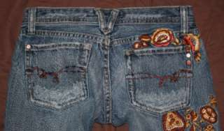 Me Jeans Size 26 EUC Low Rise Boot cut by the makers of Sang Real, MEK