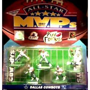 DALLAS COWBOYS   ALL STAR MVPS   1997   POSEABLE ACTION