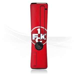 com Design Skins for Microsoft Xbox 360 Slim Faceblade   1. FCK Logo