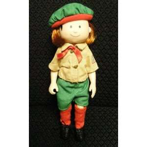 Madeline Doll with Rare Girl Scout Outfit (Retired) Toys & Games