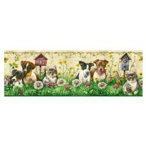 Sanitas Puppies & Kittens Wallpaper Border CK062173B