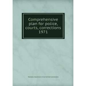 courts, corrections. 1971 Montana. Governors Crime Control