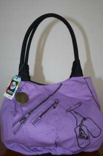 Roxy Girls Purse/Bag Tame Purple New