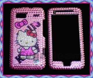 Hello kitty Bling skin Case Cover F HTC T Mobile G2 DDK